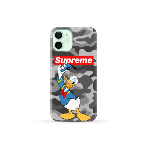 Donald Duck Supreme Camo for Amazing iPhone 12 Mini Case Cover