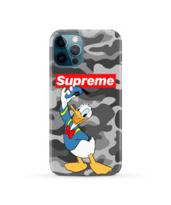Donald Duck Supreme Camo for Cool iPhone 12 Pro Case Cover