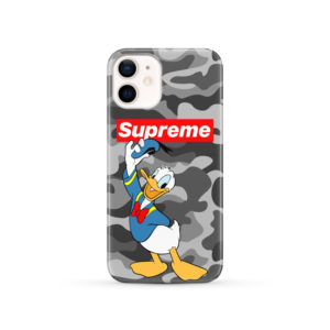 Donald Duck Supreme Camo for Stylish iPhone 12 Case Cover