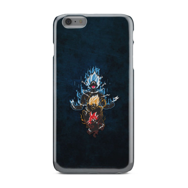 Dragon Ball Super Goku Saiyan Evolution for Nice iPhone 6 Plus Case
