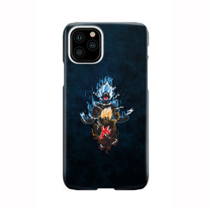 Dragon Ball Super Goku Saiyan Evolution for Trendy iPhone 11 Pro Case