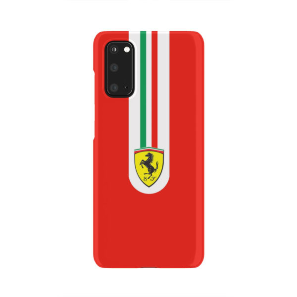 Ferrari Logo for Personalised Samsung Galaxy S20 Case Cover