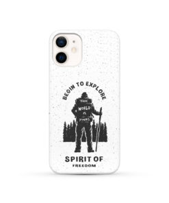 Hiking on the Forest Quote for Beautiful iPhone 12 Case