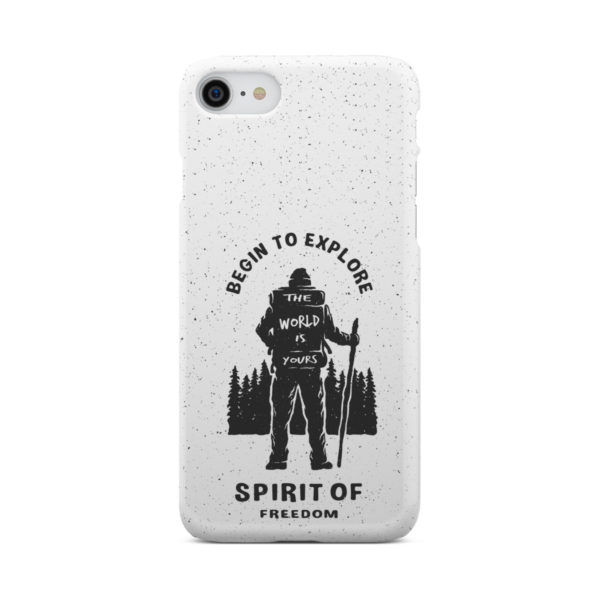 Hiking on the Forest Quote for Beautiful iPhone 7 Case Cover