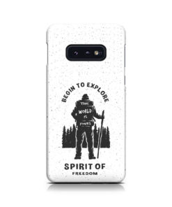 Hiking on the Forest Quote for Beautiful Samsung Galaxy S10e Case