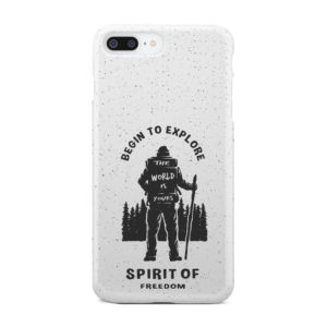 Hiking on the Forest Quote for Best iPhone 7 Plus Case Cover