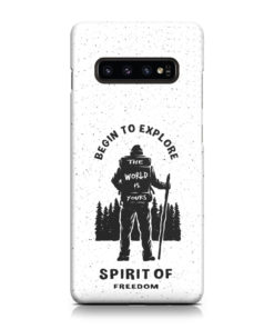 Hiking on the Forest Quote for Best Samsung Galaxy S10 Case Cover