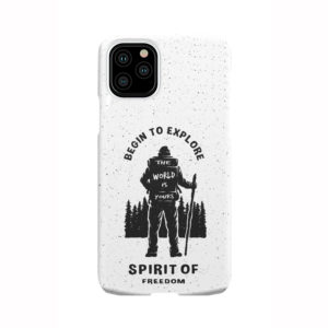 Hiking on the Forest Quote for Cool iPhone 11 Pro Case