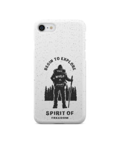Hiking on the Forest Quote for Cool iPhone SE 2020 Case Cover