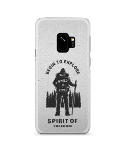 Hiking on the Forest Quote for Custom Samsung Galaxy S9 Case Cover