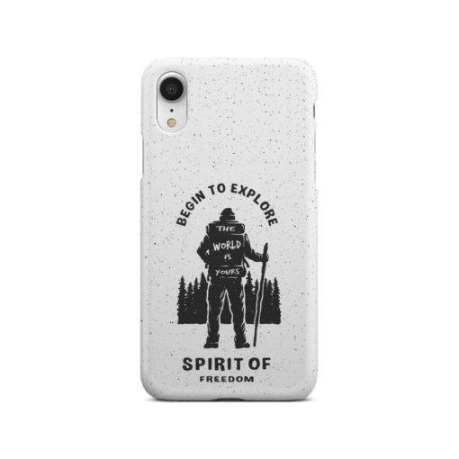 Hiking on the Forest Quote for Customized iPhone XR Case Cover