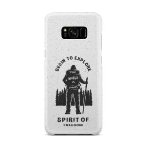 Hiking on the Forest Quote for Cute Samsung Galaxy S8 Plus Case