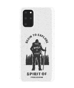Hiking on the Forest Quote for Newest Samsung Galaxy S20 Plus Case