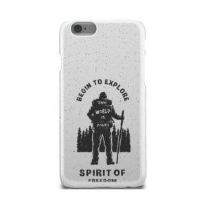 Hiking on the Forest Quote for Nice iPhone 6 Case
