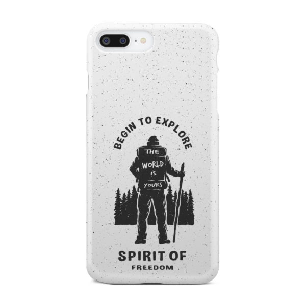 Hiking on the Forest Quote for Nice iPhone 8 Plus Case Cover