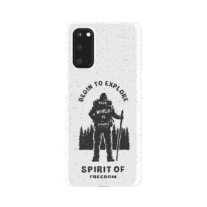 Hiking on the Forest Quote for Simple Samsung Galaxy S20 Case Cover