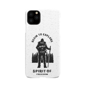 Hiking on the Forest Quote for Stylish iPhone 11 Pro Max Case