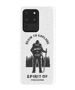 Hiking on the Forest Quote for Stylish Samsung Galaxy S20 Ultra Case Cover