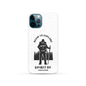 Hiking on the Forest Quote for Unique iPhone 12 Pro Case