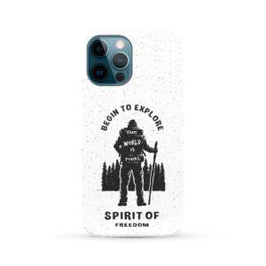 Hiking on the Forest Quote for Unique iPhone 12 Pro Max Case Cover