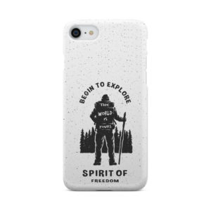 Hiking on the Forest Quote for Unique iPhone 8 Case