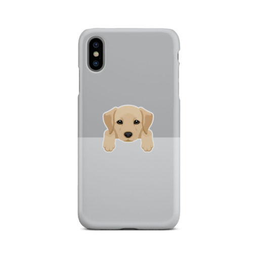 Labrador Retriever Puppy for Beautiful iPhone XS Max Case Cover