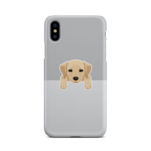 Labrador Retriever Puppy for Cool iPhone X / XS Case Cover