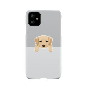 Labrador Retriever Puppy for Custom iPhone 11 Case