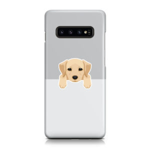 Labrador Retriever Puppy for Customized Samsung Galaxy S10 Case Cover