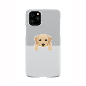 Labrador Retriever Puppy for Personalised iPhone 11 Pro Case