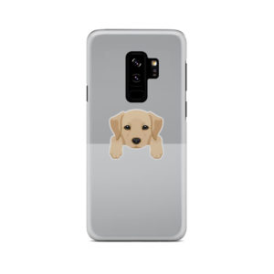 Labrador Retriever Puppy for Unique Samsung Galaxy S9 Plus Case