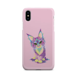 Maine Coon Kitten for Amazing iPhone X / XS Case