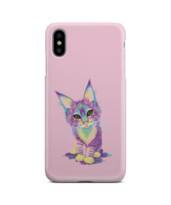 Maine Coon Kitten for Beautiful iPhone XS Max Case Cover