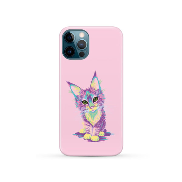 Maine Coon Kitten for Best iPhone 12 Pro Case