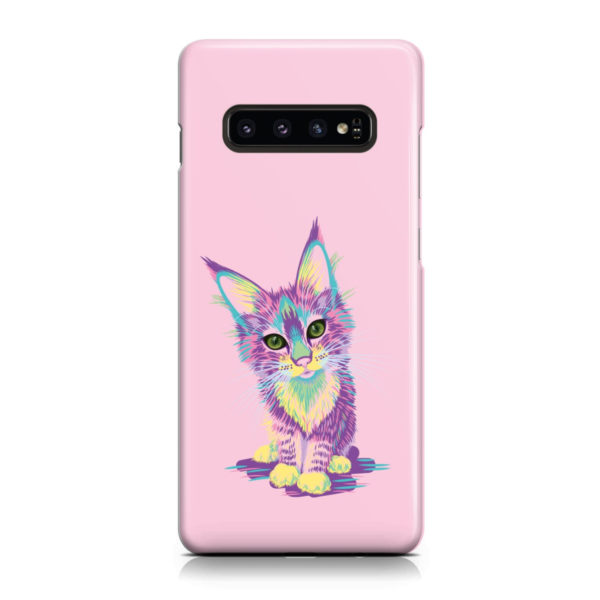 Maine Coon Kitten for Cool Samsung Galaxy S10 Case