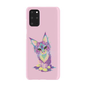 Maine Coon Kitten for Cool Samsung Galaxy S20 Plus Case