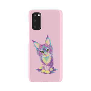 Maine Coon Kitten for Custom Samsung Galaxy S20 Case Cover