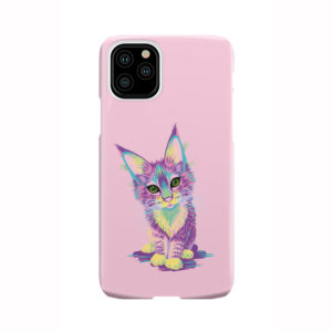 Maine Coon Kitten for Cute iPhone 11 Pro Case