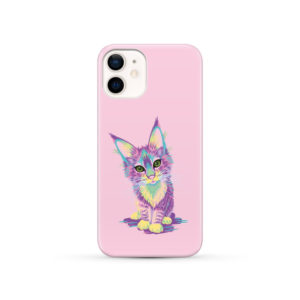Maine Coon Kitten for Newest iPhone 12 Case Cover