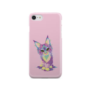 Maine Coon Kitten for Newest iPhone SE 2020 Case Cover