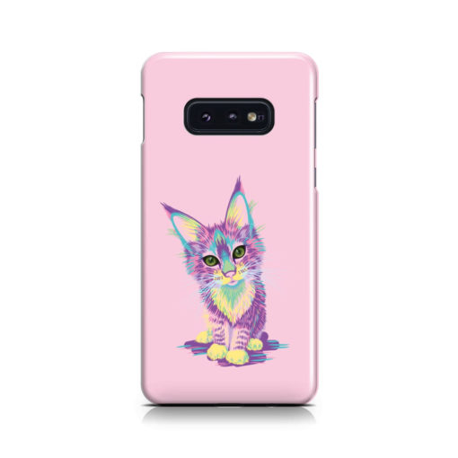 Maine Coon Kitten for Newest Samsung Galaxy S10e Case Cover
