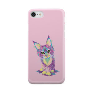 Maine Coon Kitten for Nice iPhone 8 Case Cover