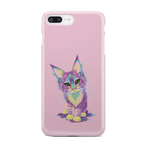 Maine Coon Kitten for Personalised iPhone 7 Plus Case