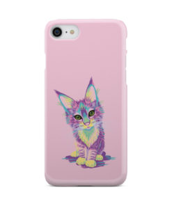 Maine Coon Kitten for Premium iPhone 7 Case Cover