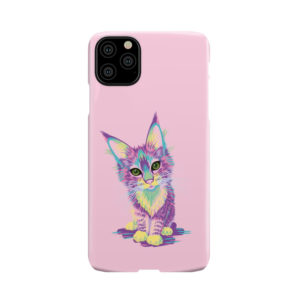 Maine Coon Kitten for Stylish iPhone 11 Pro Max Case