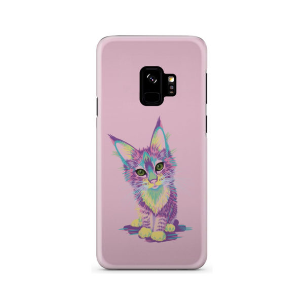 Maine Coon Kitten for Stylish Samsung Galaxy S9 Case Cover