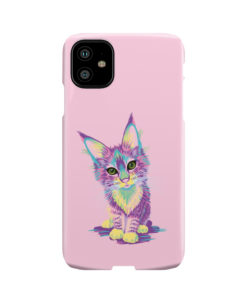 Maine Coon Kitten for Trendy iPhone 11 Case