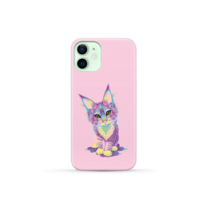 Maine Coon Kitten for Trendy iPhone 12 Mini Case