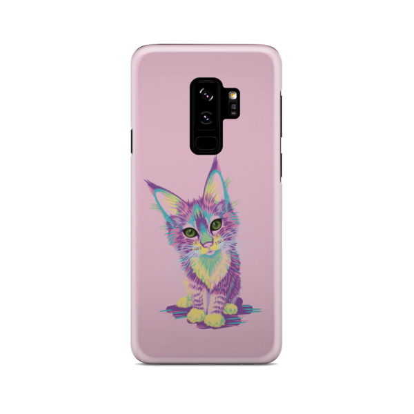 Maine Coon Kitten for Trendy Samsung Galaxy S9 Plus Case