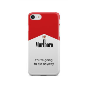 Marlboro Quote for Beautiful iPhone SE 2020 Case Cover